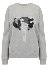 UZMA BOZAI Elephant Sweater - Grey