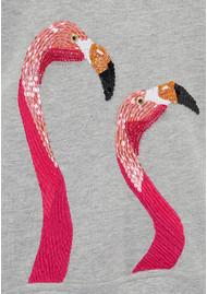 UZMA BOZAI Flamingo Sweater - Grey