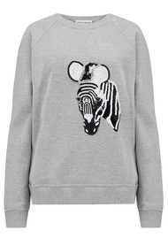 UZMA BOZAI Zebra Sweater - Grey