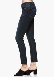 Paige Denim Verdugo Ankle Skinny Jeans with Raw Hem - Mazzetti