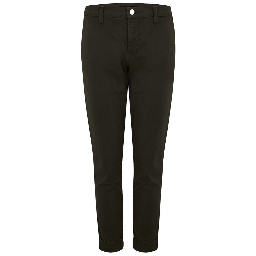 Josie Tapered Skinny Trousers - Linden