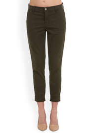 J Brand Josie Tapered Skinny Trousers - Linden