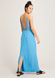SAMSOE & SAMSOE Ginni Long Dress - Niagara