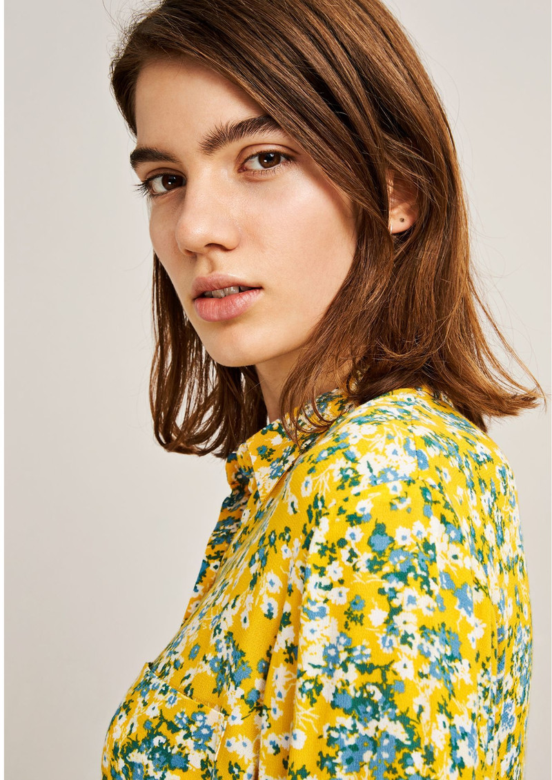 SAMSOE & SAMSOE Milly Long Sleeve Shirt - Soleil Jardin main image