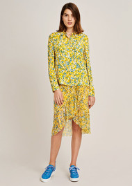 SAMSOE & SAMSOE Milly Long Sleeve Shirt - Soleil Jardin