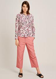 SAMSOE & SAMSOE Milly Long Sleeve Shirt - Ciel Jardin