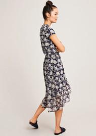 SAMSOE & SAMSOE Jayla Printed Dress - Bleu Palmier