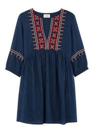 Ba&sh Agda Dress - Blue