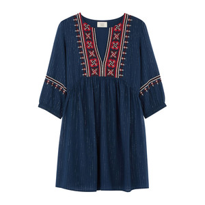 Agda Dress - Blue