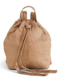 DAY & MOOD Natasja Leather Backpack - Rose Dust