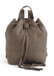 DAY & MOOD Natasja Leather Backpack - Light Grey
