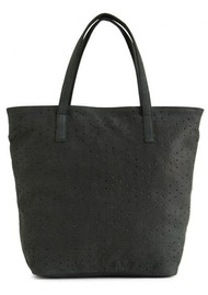 DAY & MOOD Nelly Leather Tote Bag - Black