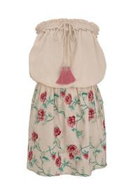PAMPELONE Olbia Mini Dress - Peach
