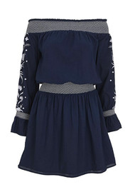 PAMPELONE Formentera Dress - Navy