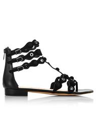 Sam Edelman Desi Suede Sandals - Black