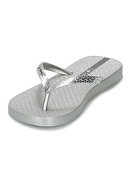 Ipanema Glam Flip Flops - Silver
