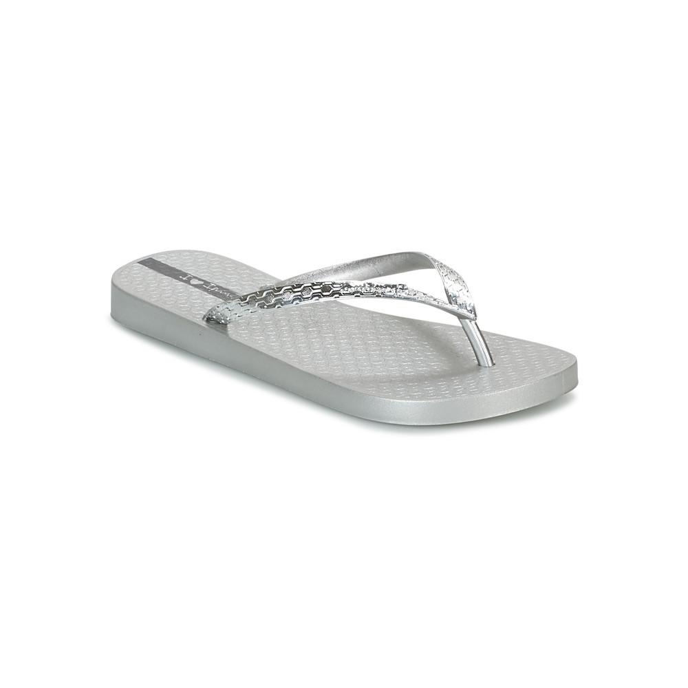 Glam Flip Flops - Silver