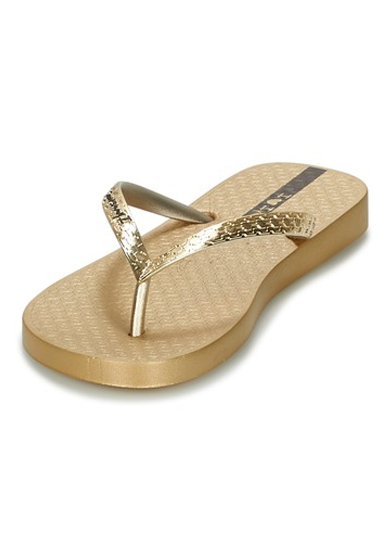 a8f61027755 Glam Flip Flops - Gold main image