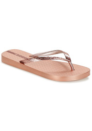 Ipanema Glam Flip Flops - Rose Gold