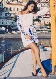 PAMPELONE Grimaud Dress - White
