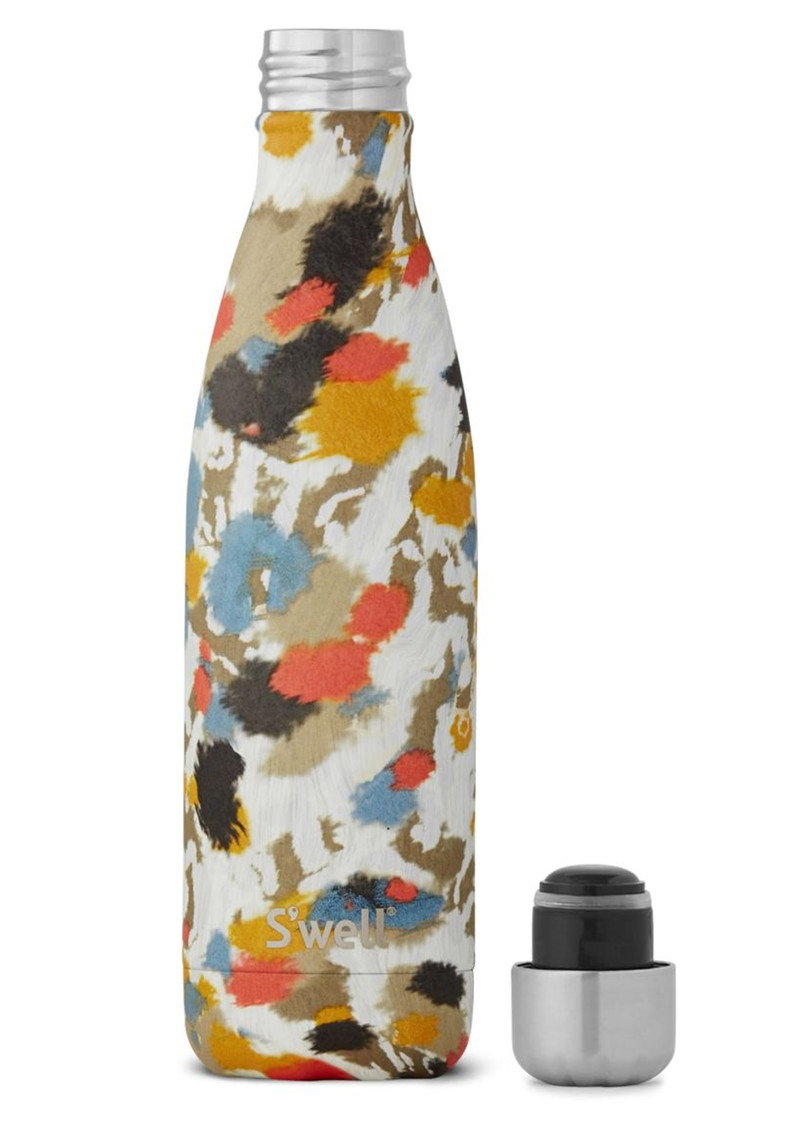 SWELL The Exotic 17oz Water Bottle - Ivoire Cheetah main image