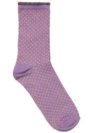 Becksondergaard Dina Small Dots Socks - Saffron