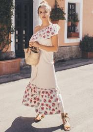 PAMPELONE Delphina Dress - Blush