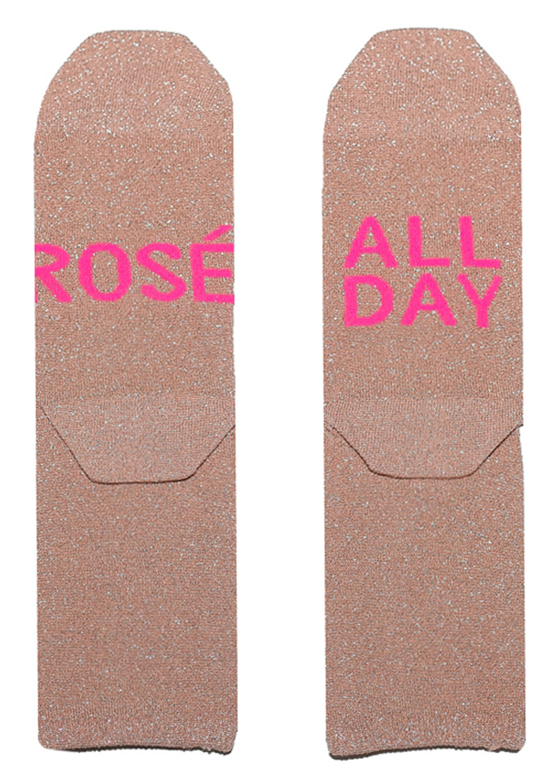 UNIVERSE OF US Sparkle Socks - Rose All Day main image