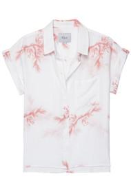 Rails Whitney Shirt - Blush Birds Of Paradise