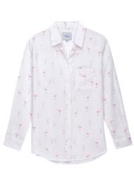 Rails Charli Shirt - Flamingos