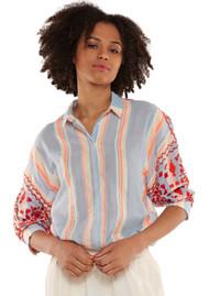 ESSENTIEL ANTWERP Promelo Embroidered Shirt - Sunburn