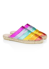 AIR & GRACE Mardi Gras Espadrilles - Rainbow