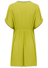 NOOKI Lagoon Beach Dress - Lime