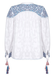 PK BERRY Hannah Blouse - White