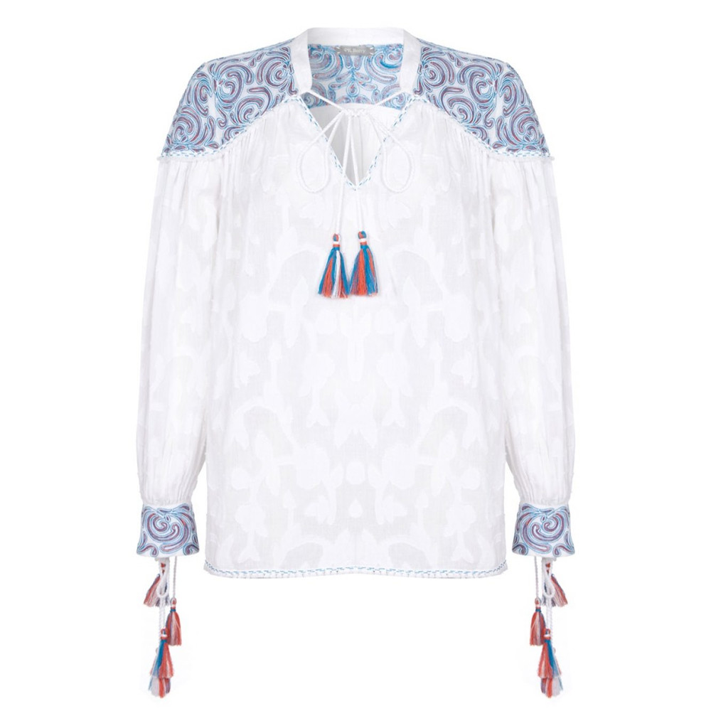 Hannah Blouse - White