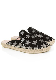 AIR & GRACE Souk Espadrilles - Black Star