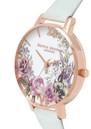 Olivia Burton Enchanted Garden Floral Watch - Sage & Rose Gold