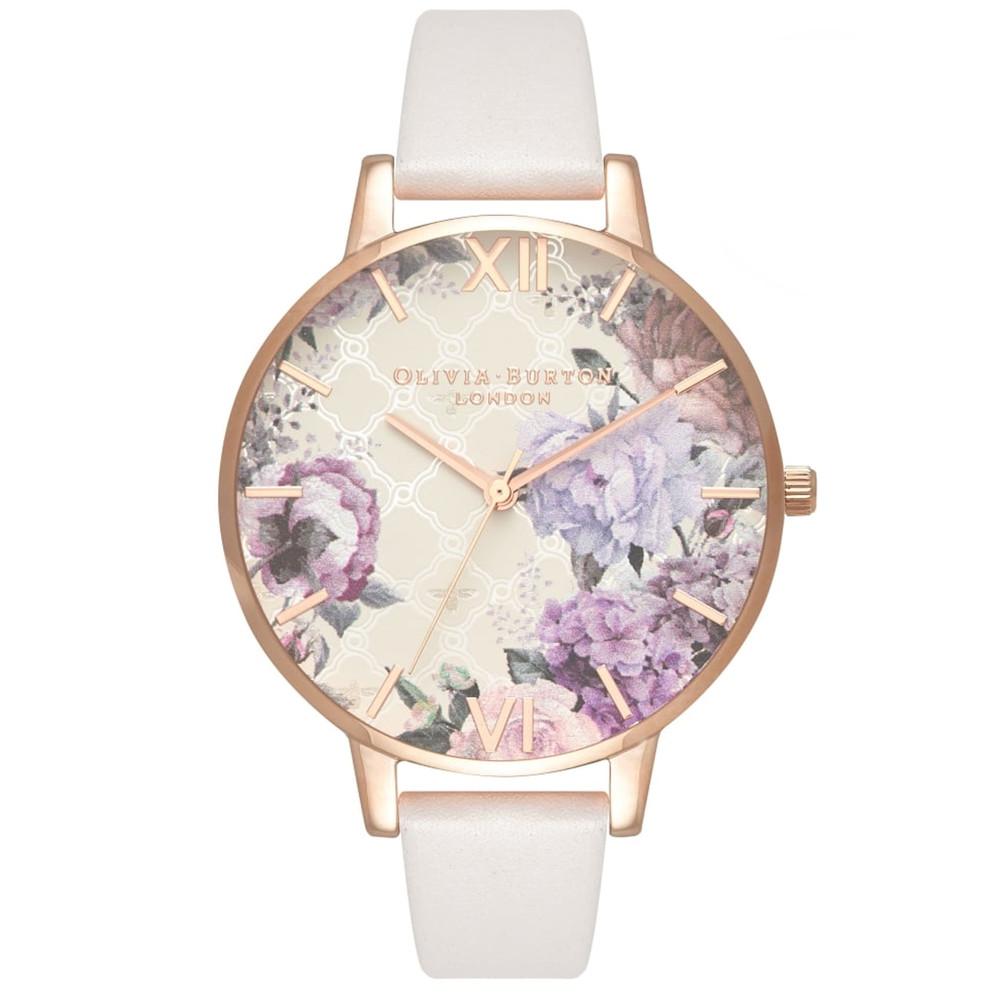 Glasshouse Midi Dial Watch - Blush & Rose Gold