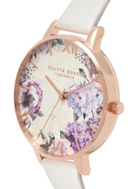 Olivia Burton Glasshouse Midi Dial Watch - Blush & Rose Gold