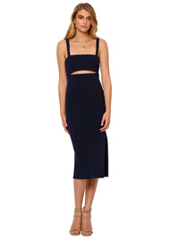 BEC & BRIDGE Bon Marche Cut Out Dress - Ink