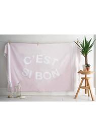 HAMMAMHAVLU C'est Si Bon Esra Towel - Blush Pink
