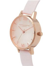 Olivia Burton Semi Precious Midi Dial Watch - Blossom & Rose Gold