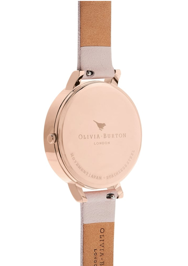 Olivia Burton Semi Precious Big Dial Watch - Blossom & Rose Gold main image