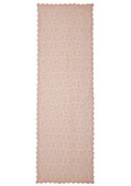 Rosemunde Delicia Lace Scarf - Pink