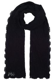 Rosemunde Delicia Lace Scarf - Black