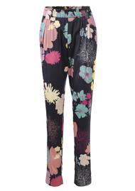 STINE GOYA Rays Trousers - Flowers