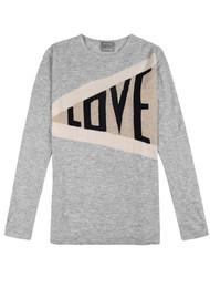 ORWELL + AUSTEN Love Cashmere Sweater - Grey
