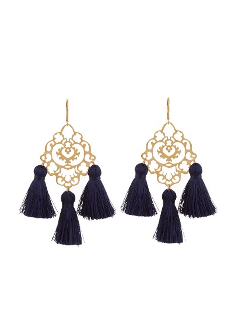 Marte Frisnes Rita Tassel Earrings I4gsbiz1W