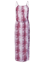 HEIDI KLEIN Monaco Drop Waist Maxi Dress - Burgundy