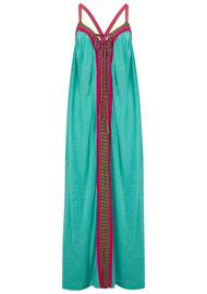 PITUSA Goddess Maxi Dress - Mint Cheetah